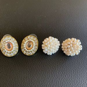 Jewelry - 2 For 1 Vintage Costume Fashion Jewelry